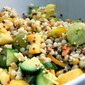 Israeli Couscous & Summer Squash Salad with Pesto Vinaigrette