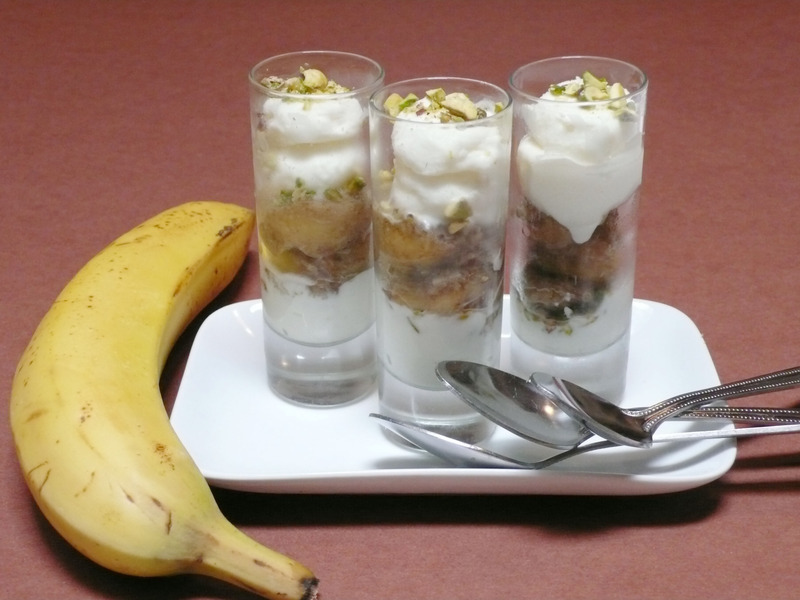 The Banana Split...Deconstructed. A Light Variation On A Classic!