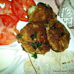 FISH pattie cakes CROQUETTES and SAUCES