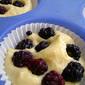 Blackberry Yogurt Cake