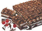 Black Forest Cheesecake Squares