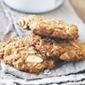Orange & almond Anzac bicuits