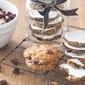 Cranberry & white chocolate Anzac biscuits