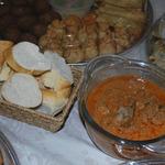 Chicken livers peri-peri