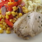 Lemon Pork with Pepper and Sweetcorn
