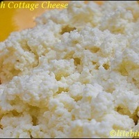 Cottage Cheese and a Quick Dessert