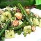 Langoustino & Potato Salad w/ Green Beans, Pesto & Peas