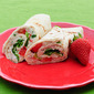 Chicken Salad Wraps with Strawberries