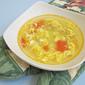 Chinese Okra Egg-Drop Soup, 丝瓜蛋花汤
