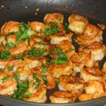Spicy Shrimp Moroccan Style