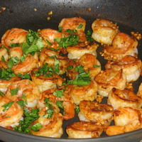 Spicy Shrimp Moroccan Style