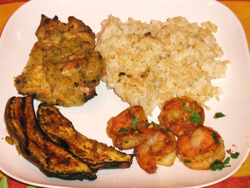 Chicken Kabob or Thigh Moroccan Style