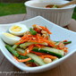 Raw Cucumber Salad SE Asian Style (Som Tum) - Cucumber Series #3