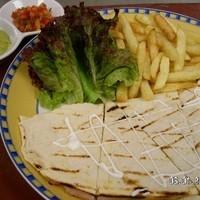 Ham and Chesse Quesadilla