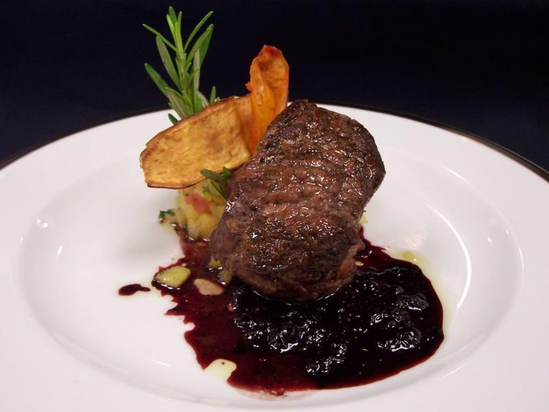 Grilled US beef tenderloin