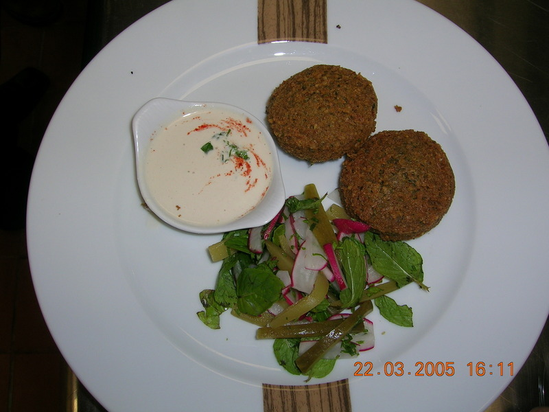 lebanees chick pea falafel