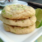 Coconut and Lime Chewy Sugar Cookies