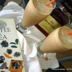 cold Espresso Coffee AMARETTO Latté