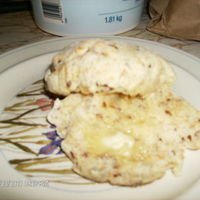 Whole Wheat Flax Yam Biscuits