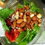 2 Herbs roasted Nuts Tomato PESTO