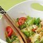 Blue gardenia salad