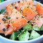 A Carb-less Nifty Little Salmon dish ... and a start up to a thinner you.