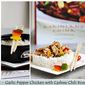 {Book Review & Giveaway} GARLIC-PEPPER CHICKEN with CASHEW RED CHILI RICE ... The Mainland China Cookbook & a giveaway