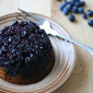 The Tell-Tale Cake - Blueberry-Cornmeal Upside Down Babycakes