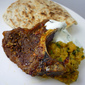 Punjabi Chicken and Spinach