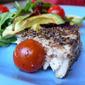 pepper crusted seared Tuna