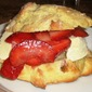 Strawberry Shortcake in Scones!