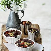{Baking} CHOCOLATE PLUM CLAFOUTIS ... inspired yet again!