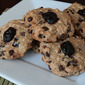 Vegan Gluten Free Chocolate Cherry Oatmeal Cookies