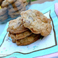Cinnamon Oat Crunch Cookies