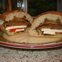 Refreshing Eggplant Sandwich