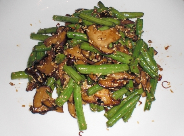 Crunchy Long Beans With Sesame Seeds