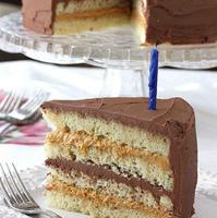 Chocolate & Dulce de Leche Birthday Cake Recipe