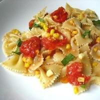 Roasted Corn & Cherry Tomato Pasta