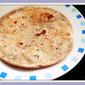 Mint & Kalonji Seeds Paratha