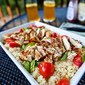 Spiced Grilled Chicken with Couscous