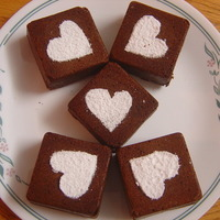 Rich Chocoffee Square cakes !