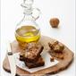 {Baking} OLIVE OIL WALNUT BROWNIES ... darned good bites!