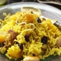 Exotic Spiced Pineapple Rice