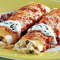 Fiesta Chicken Enchiladas