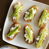 Crostini with Asparagus