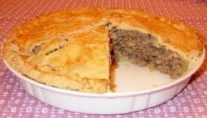 Tourtière du Québec (Quebec meat pie)
