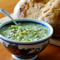 Mountain Man Bread with Creamy Chopped Broccoli Soup