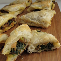 Lamb Curry Puffs