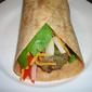 Turkey & Veggie Burger Wraps