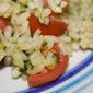 Risotto al basilico con pomodorini e peperoncino habanero